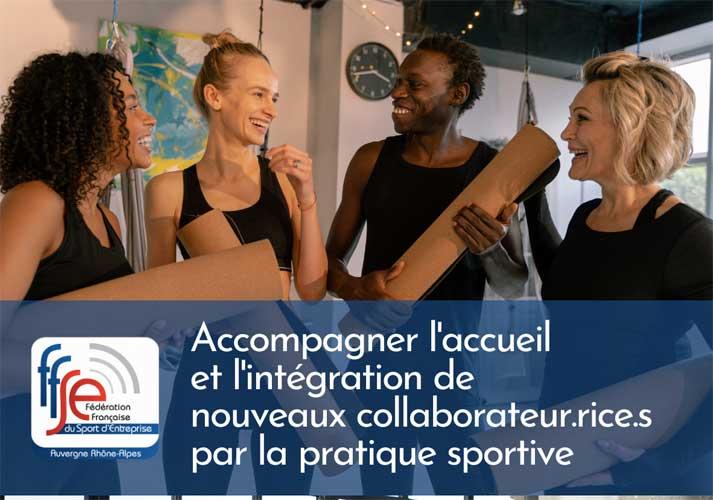 Accompagner l'accueil et l'intégration de nouveaux collaborateurs par la pratique sportiv